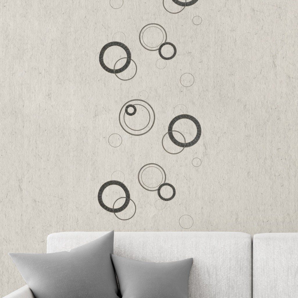 Design circles dark gray