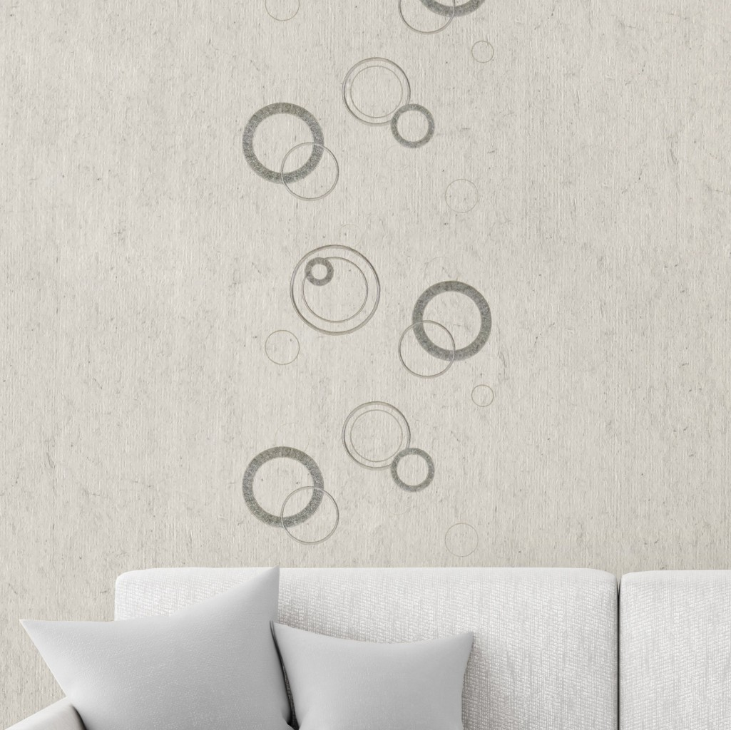Design circles light gray