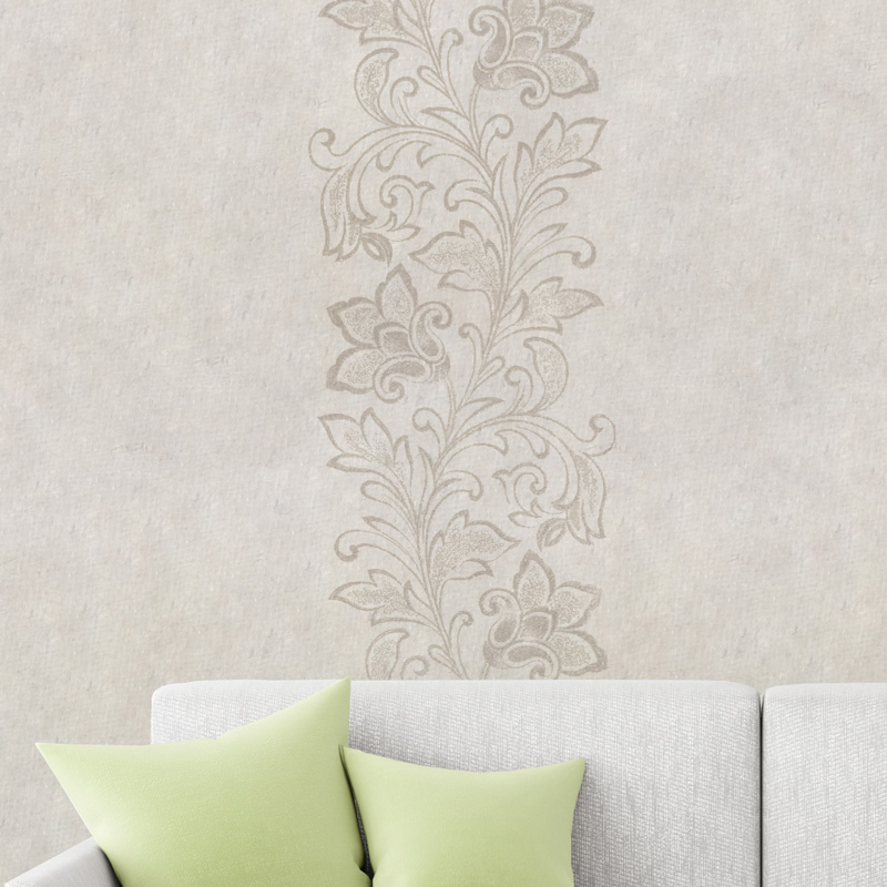 Design flower vine gold